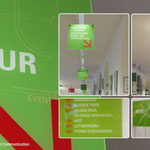 Stadtbibliothek Meran - Beschilderungssystem