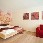 Vitalhotel Rainer, Ulten, Südtirol - Raumgestaltung Komfort-Rosenzimmer