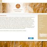 Kornkammer Vinschgau, cooperativa di agricoltori per la coltivazione del grano - design e realizzazione sito web