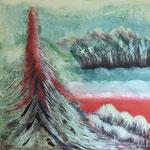 """""""Der Stolz Teneriffas"""", Acrylmalerei auf Leinwand"""