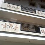 Fassadengestaltung Hotel - Realisierung