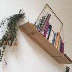 Bücherregal DIY mit Hanfseil-Aufhängung