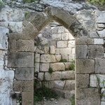 Ruine der ersten Kirche
