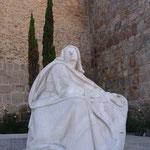 Teresa Statue in Avila