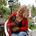 Alexia mit Emelie aus Schweden