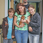 Jaspis mit Familie Steinbauer