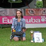 Lenchen präsentiert Kassandra in Varazdin