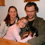 Athena mit Familie Hejl