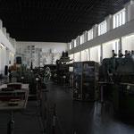 Im Ibbenbürener Bergbaumuseum. Untergebracht inder ehemaliegen Maschinenhalle des 1985 stillegelgten Balastkraftwerkes