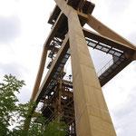 Cuvlette Nordschacht- Das Gerüst wurde 1991 erbaut. Teufe 1289m