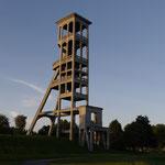 Dutemple Schacht 2 Teufe: 930m 1764-1949-mit einem Alter von 185 Jahren der am längsten benutzte Förderschacht Nordfrankreichs