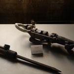 Im Museum auf der hängebank in der sogenannten Schwarzen Aufbereitung.
