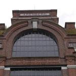 Aufschrift am Maschinenhaus Schacht 2