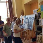 Atelier peinture- œuvre collective