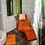 Badezimmer (3) Ferienhaus am See Kaschubei Polen