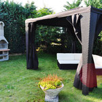 Garten (2) Ferienhaus am See Kaschubei Polen
