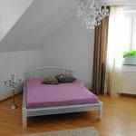 Schlafzimmer II Ferienhaus am See Kaschubei Polen