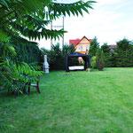 Garten (1) Ferienhaus am See Kaschubei Polen