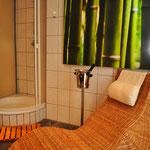 Badezimmer (1) Ferienhaus am See Kaschubei Polen