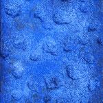 Mona Fischer`Univers`Marmormehl, Pigment/Leinwand
