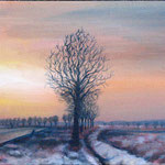 Mona Fischer ´Letzter Schnee` Acryl/Leinwand