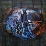 Kreation, 05 n.T./1991, 150x140 cm, Acryl auf Leinwand