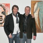Ausstellung Dr. Vinyl in St.Veit mit Künstlerfreund Mag. Christian Moser