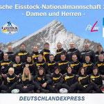 Deutsche Eisstock-Nationalmannschaft 2012 | Damen und Herren