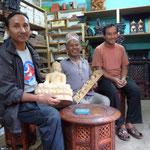 Krishna Gopa, Shiva Ram et leur père