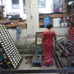 Atelier de tissage / papier (Bhaktapur)