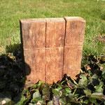 Universalmühlenset alte Fassdaube Holz Unikat Einzelstück Gewürzmühle handarbeit design