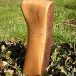 Gewürzmühle alter Eichenbalken Holz