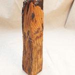Pfeffermühle, Gewürzmühle Robinienzaunpfahl Holz Unikat Einzelstück  handarbeit design