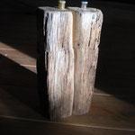 Pfeffermühlen Salzmühlen Set aus altem Eichenbalken Holz
