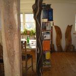 Eingang Wohnzimmer links gedämpfte Walnuss