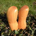 Pfeffer- Salzmühlenset Kirsche Holz Unikat Einzelstück Gewürzmühle handarbeit design