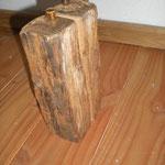 Pfeffermühlen Salzmühlen Set aus altem Eichenbalken Holz Unikat Einzelstück Gewürzmühle handarbeit design