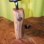 Pfeffermühle, Gewürzmühle mit Kurbel Olive Holz