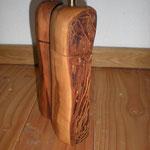 Pfeffer-Salzmühlenset aus Apfelholz Holz