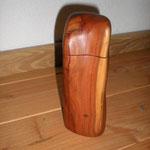 Gewürzmühle Zwetschge Holz Unikat Einzelstück Gewürzmühle handarbeit design