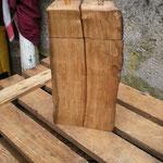 Pfeffermühlen Salzmühlen Set aus alter Fassdaube Holz