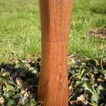 Gewürzmühle Walnuss Holz Unikat Einzelstück Gewürzmühle handarbeit design
