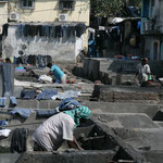 Waschmaschine auf indisch
