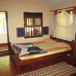 unser Zimmer bei Rosis Kannur Beach House