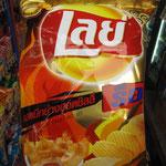 scharfe Tintenfisch Chips