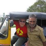 ich und mein Fahrlehrer