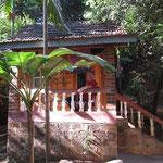 unsere Hütte im 'Namaste'