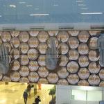 Mudras (Terminal 3 Indira Gandhi Flughafen Delhi)