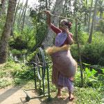 Ausflug in die Backwaters: So wird das Seil gemacht