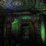 Eine der Höhlen von Ajanta